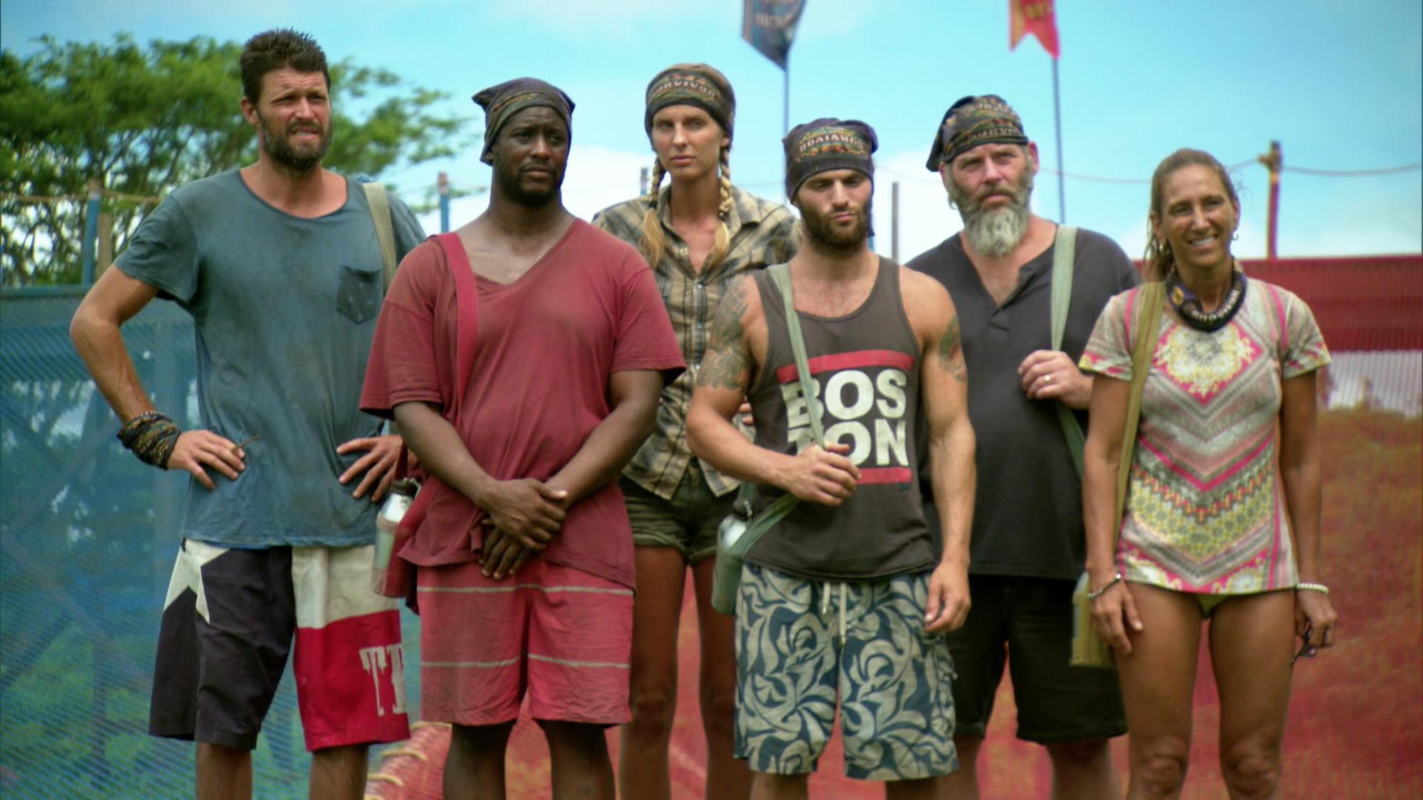 The final castaways of Survivor Season 30