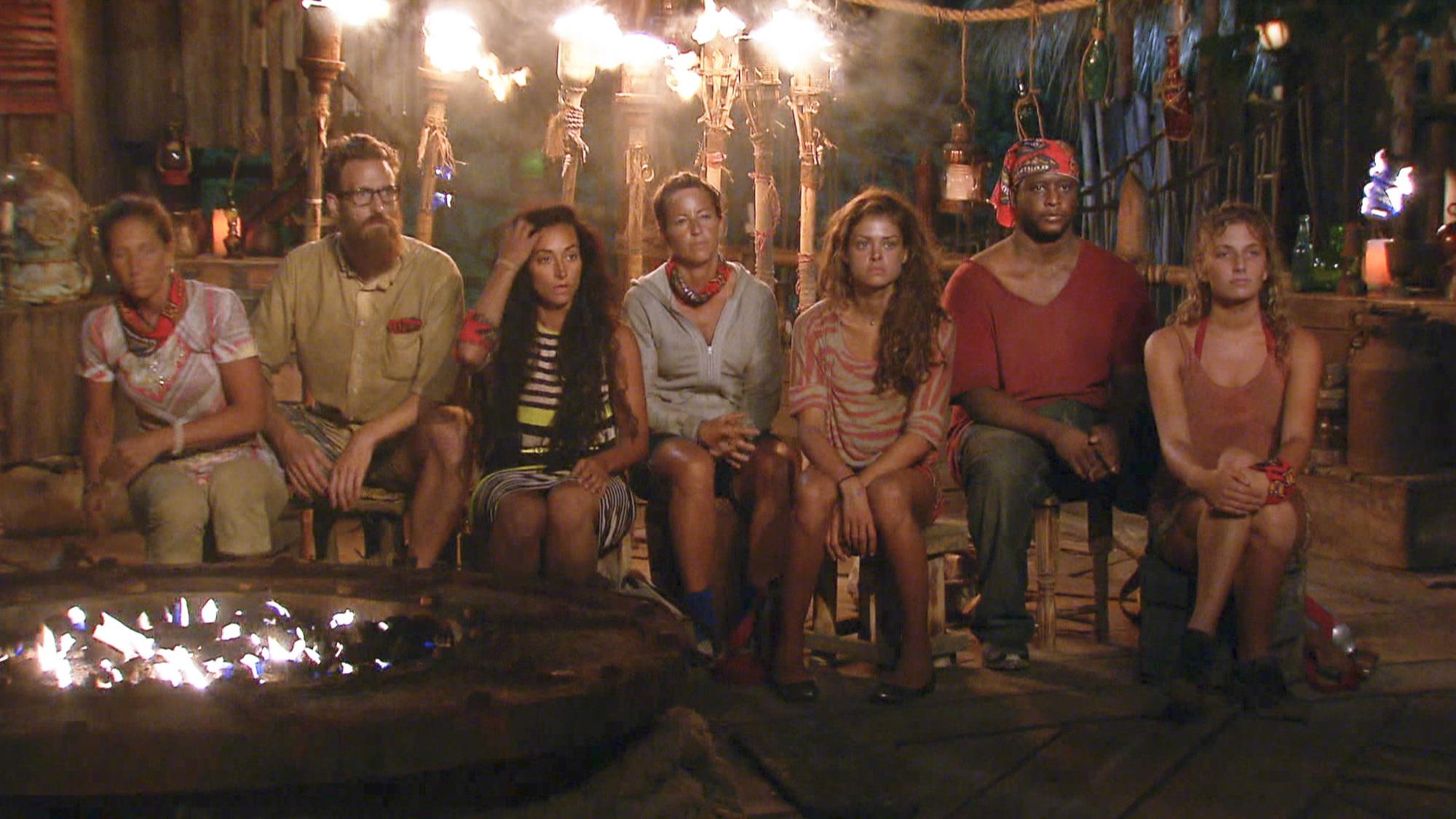 Gathered at Tribal Council