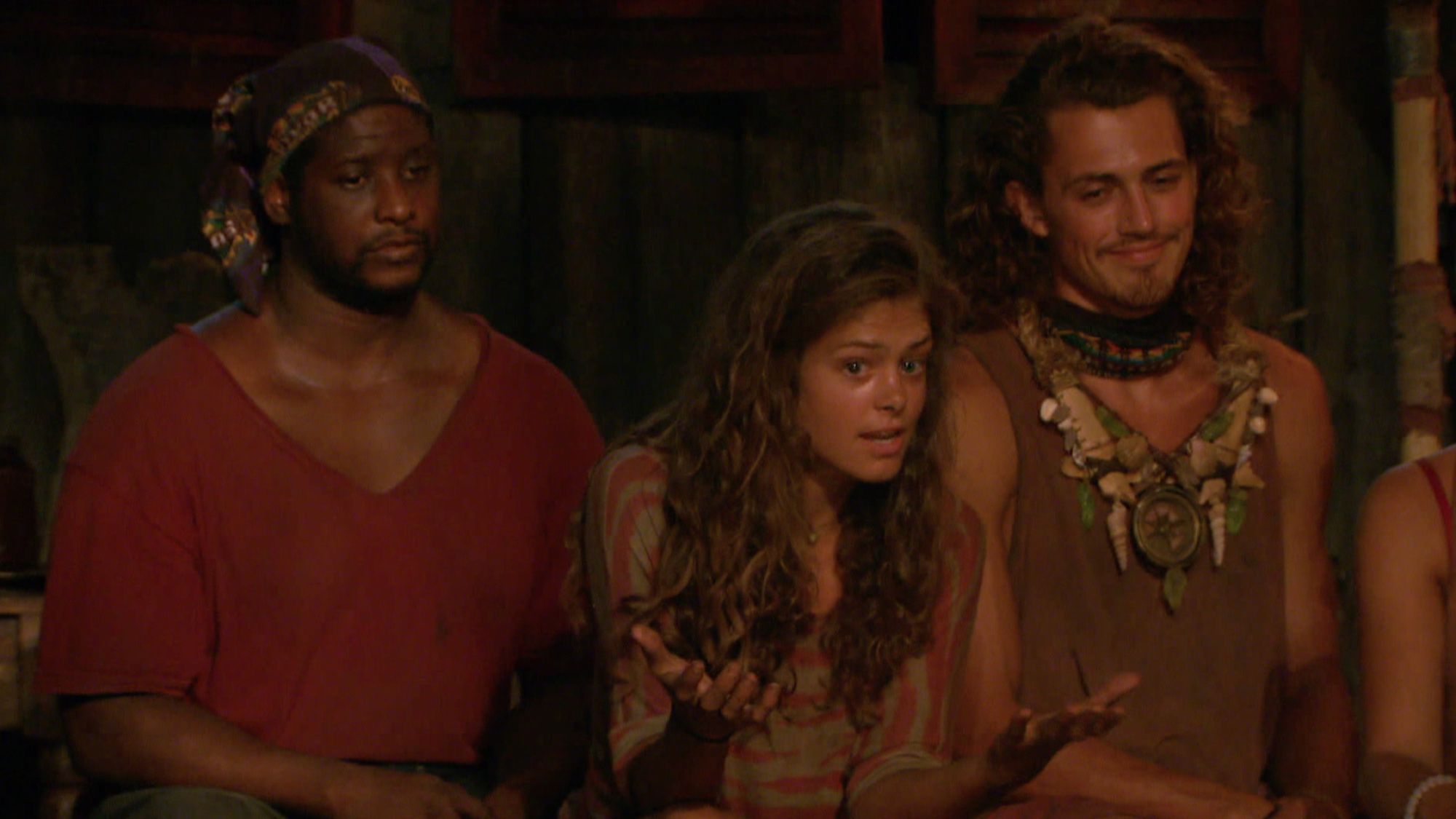 A bunch of questions during Tribal Council