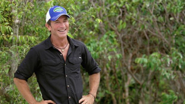 8. Jeff Probst from Survivor