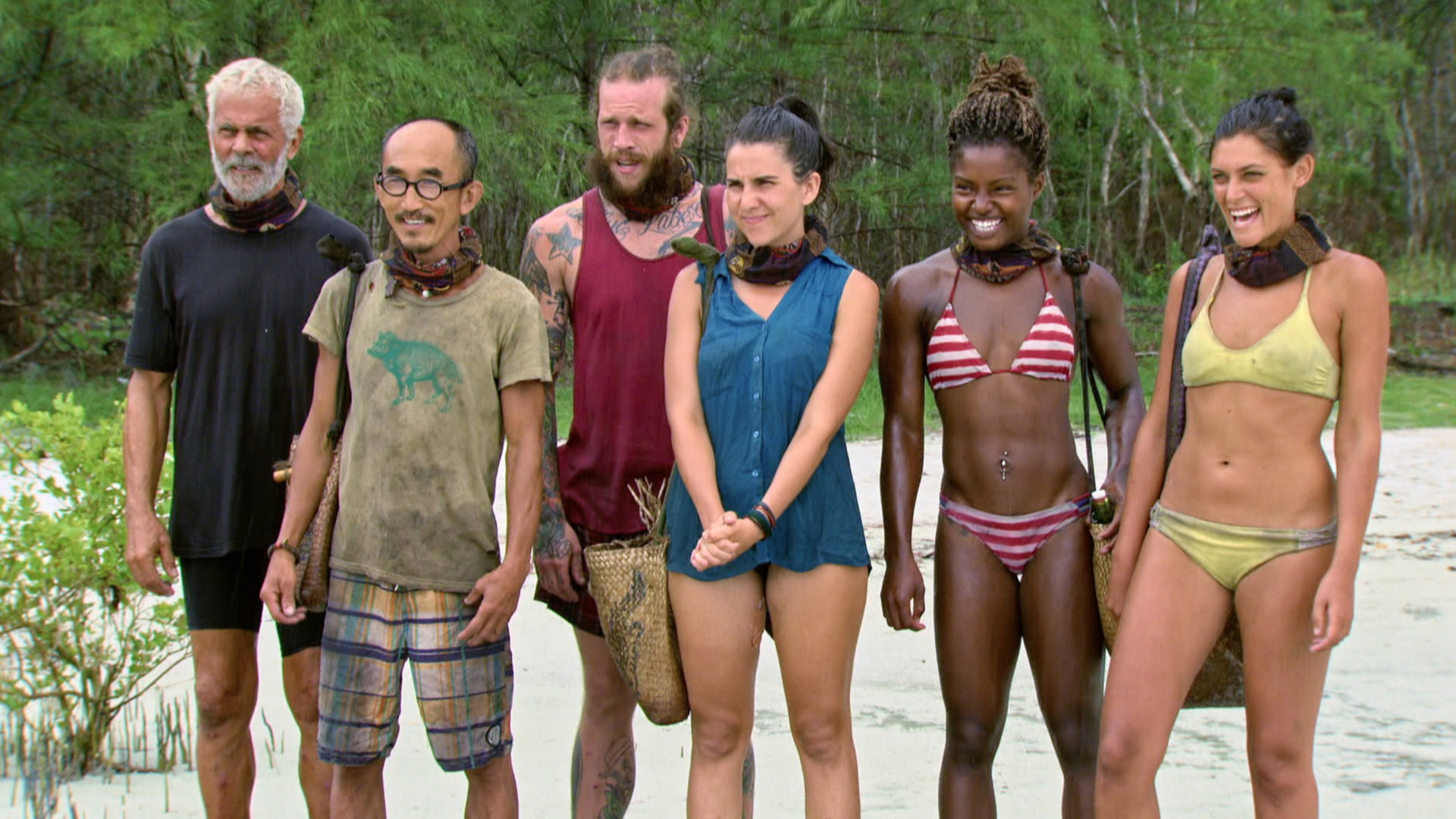 The Final 6 castaways get ready to compete for a shot in the Final 5.