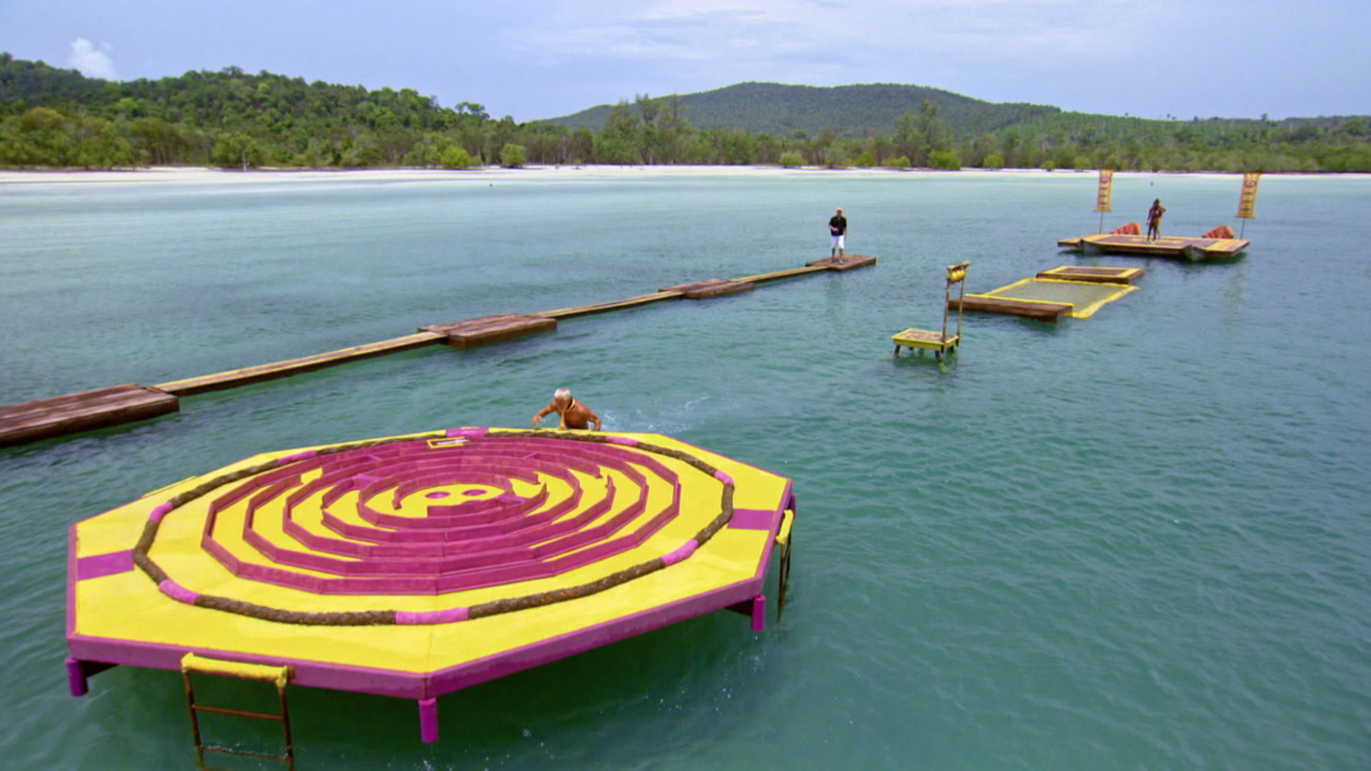 The backdrop for this Reward Challenge is too gorgeous for words.