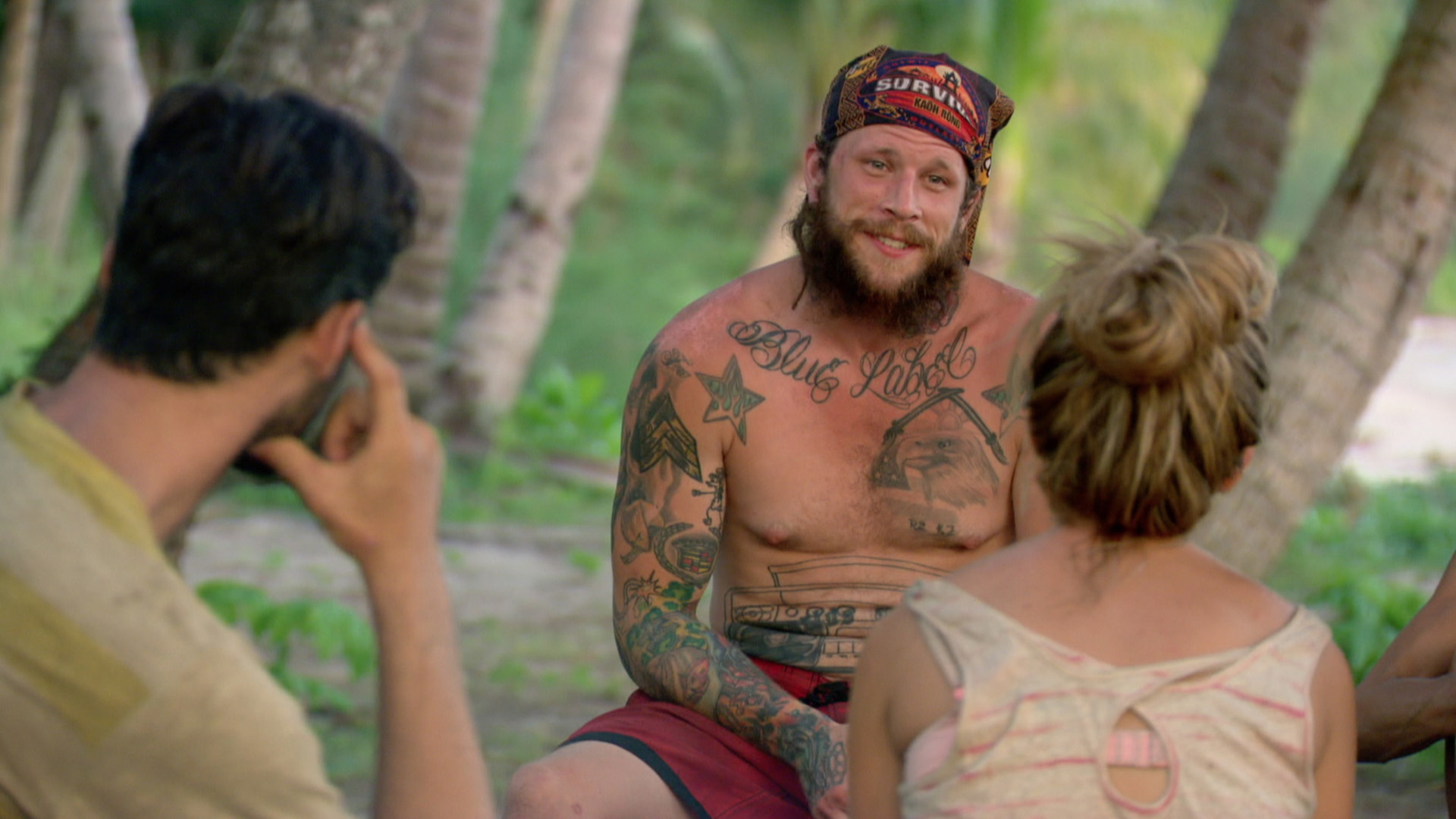 Jason opens up to his fellow castaways.
