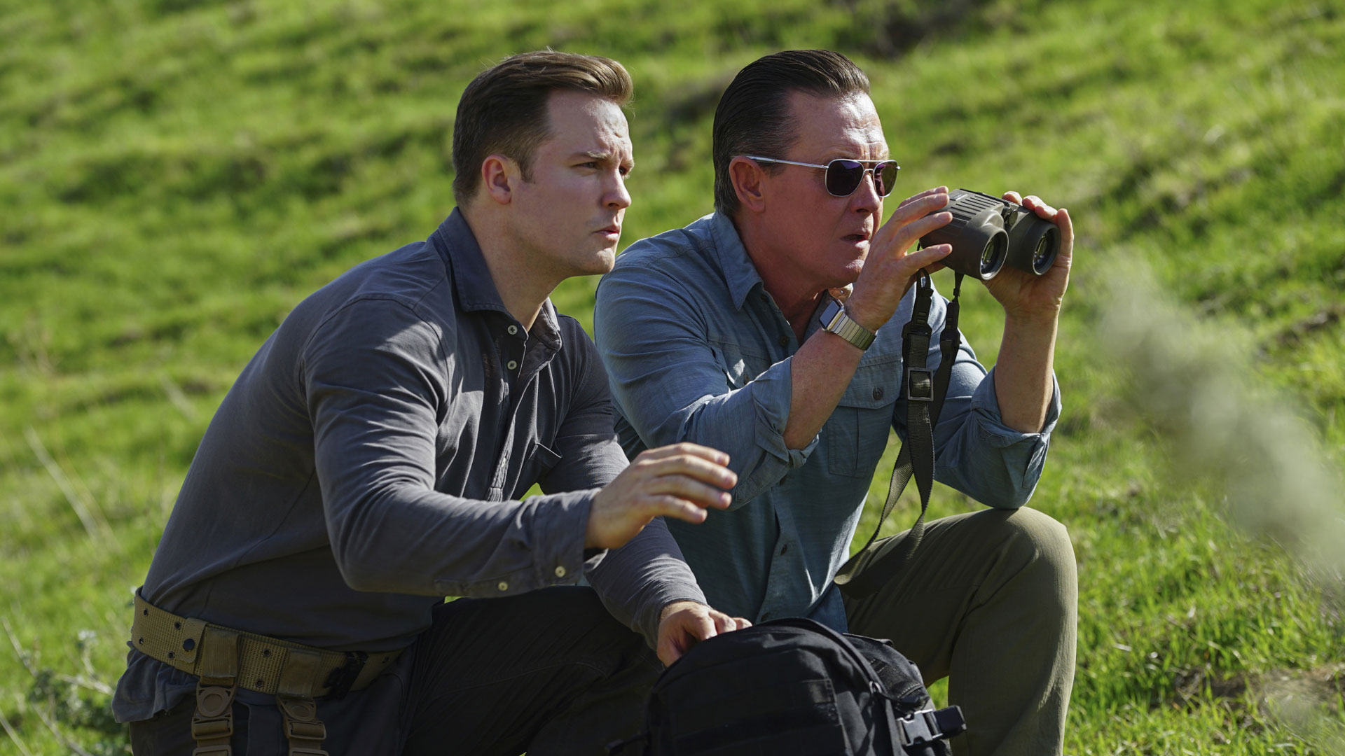Scott Porter as Tim Armstrong and Robert Patrick as Agent Cabe Gallo