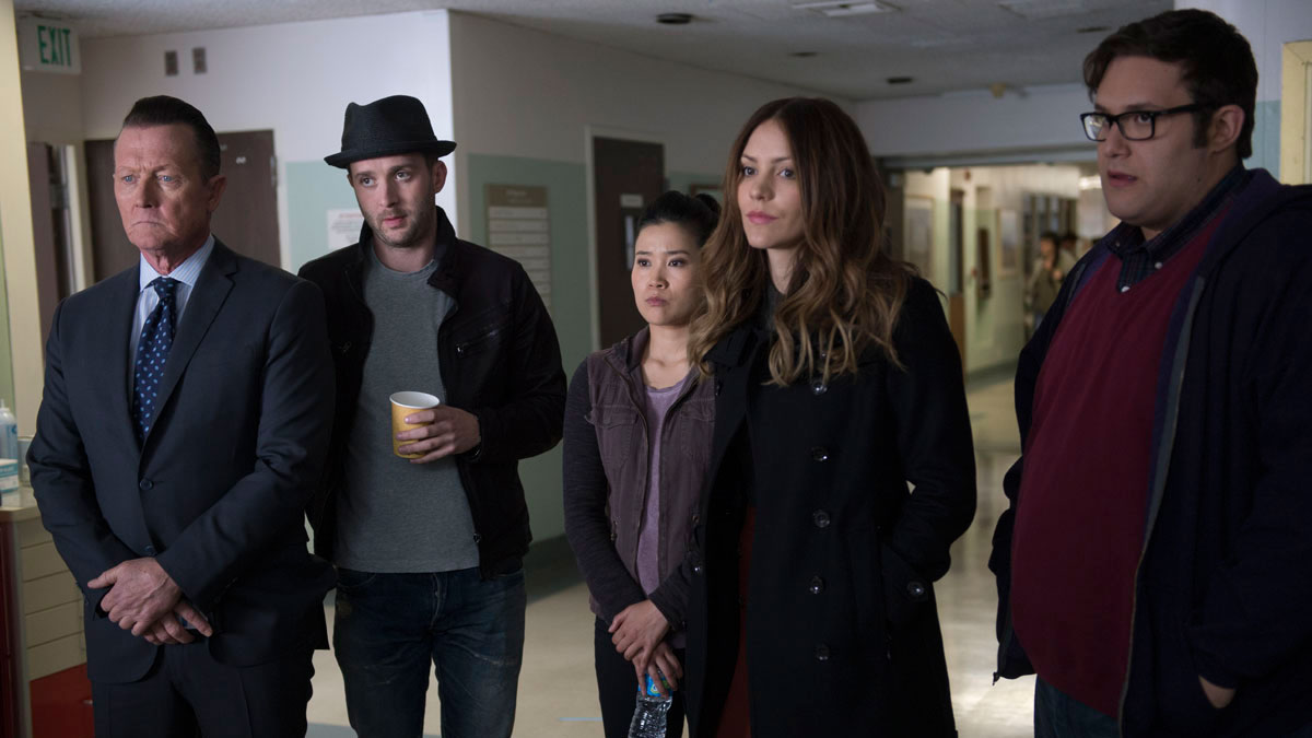 Robert Partick as Agent Cabe Gallo, Eddie Kaye Thomas as Toby Curtis, Jadyn Wong as Happy Quinn, Katharine McPhee as Paige Dineen, and Ari Stidham as Sylvester Dodd