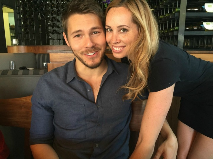 The Bold and the Beautiful's Scott Clifton and wife Nikki Lampson