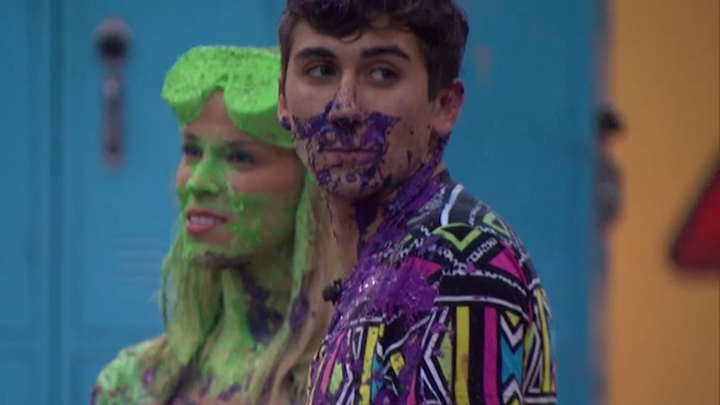 Shelli and Jason aren't afraid of a little color ​(