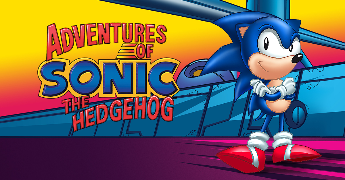 Adventures Of Sonic The Hedgehog Nickelodeon Watch On Cbs All Access