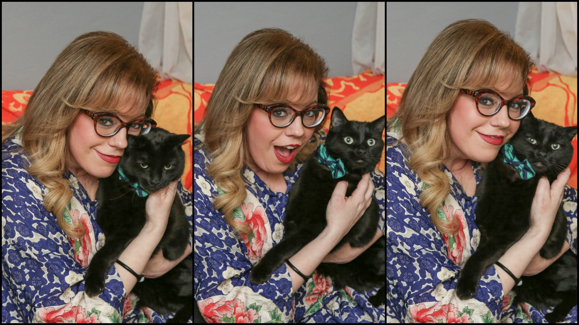 Our favorite cat lady.