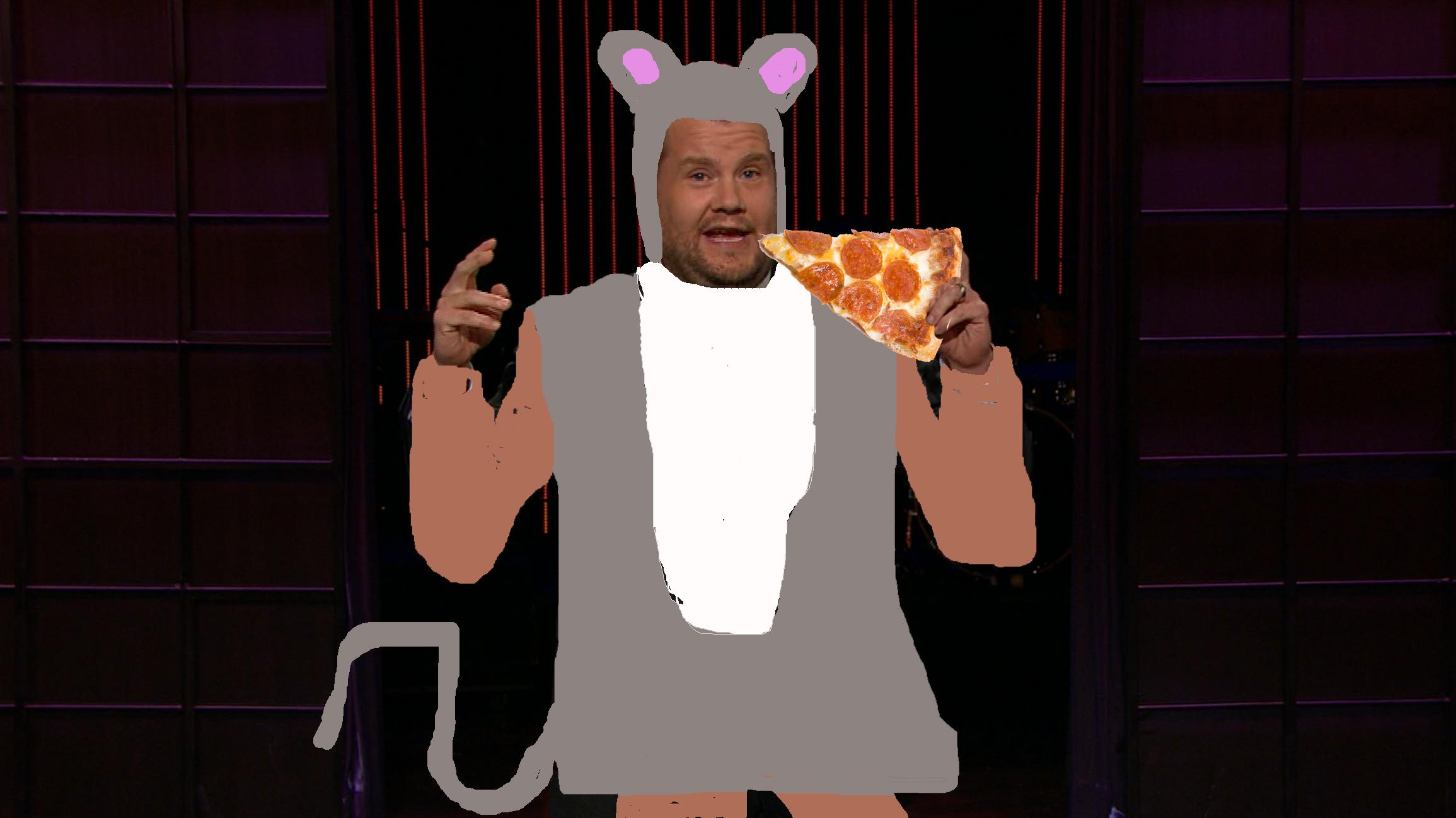 Sexy Pizza Rat