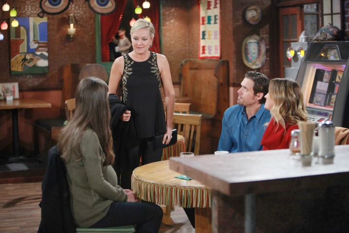 Sharon learns about Nick and Sage's adoption hopes.