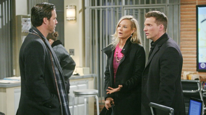Sharon clashes with Nick.