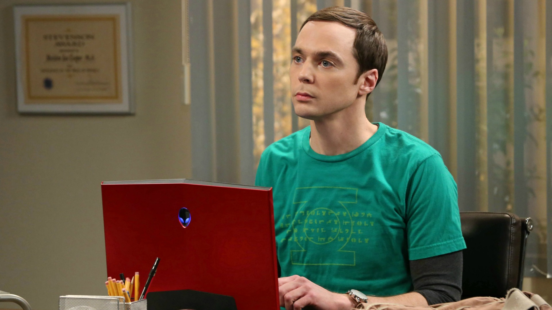 Sheldon Cooper is a man of many faces.