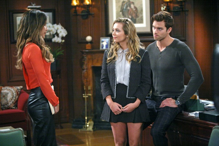 Steffy pushes Thomas to right the wrong he made with their father.