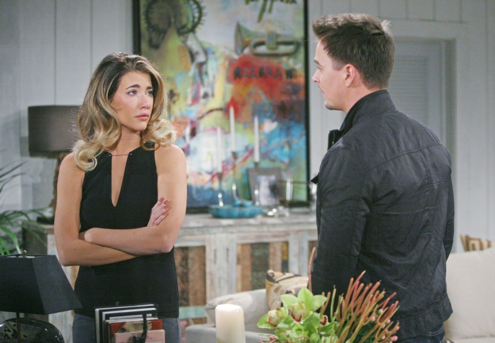 Wyatt becomes a support system for Steffy as she refuses to give up hope for reconciliation between her and Liam.