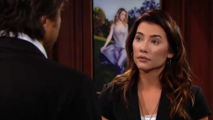 Steffy defends her marriage.