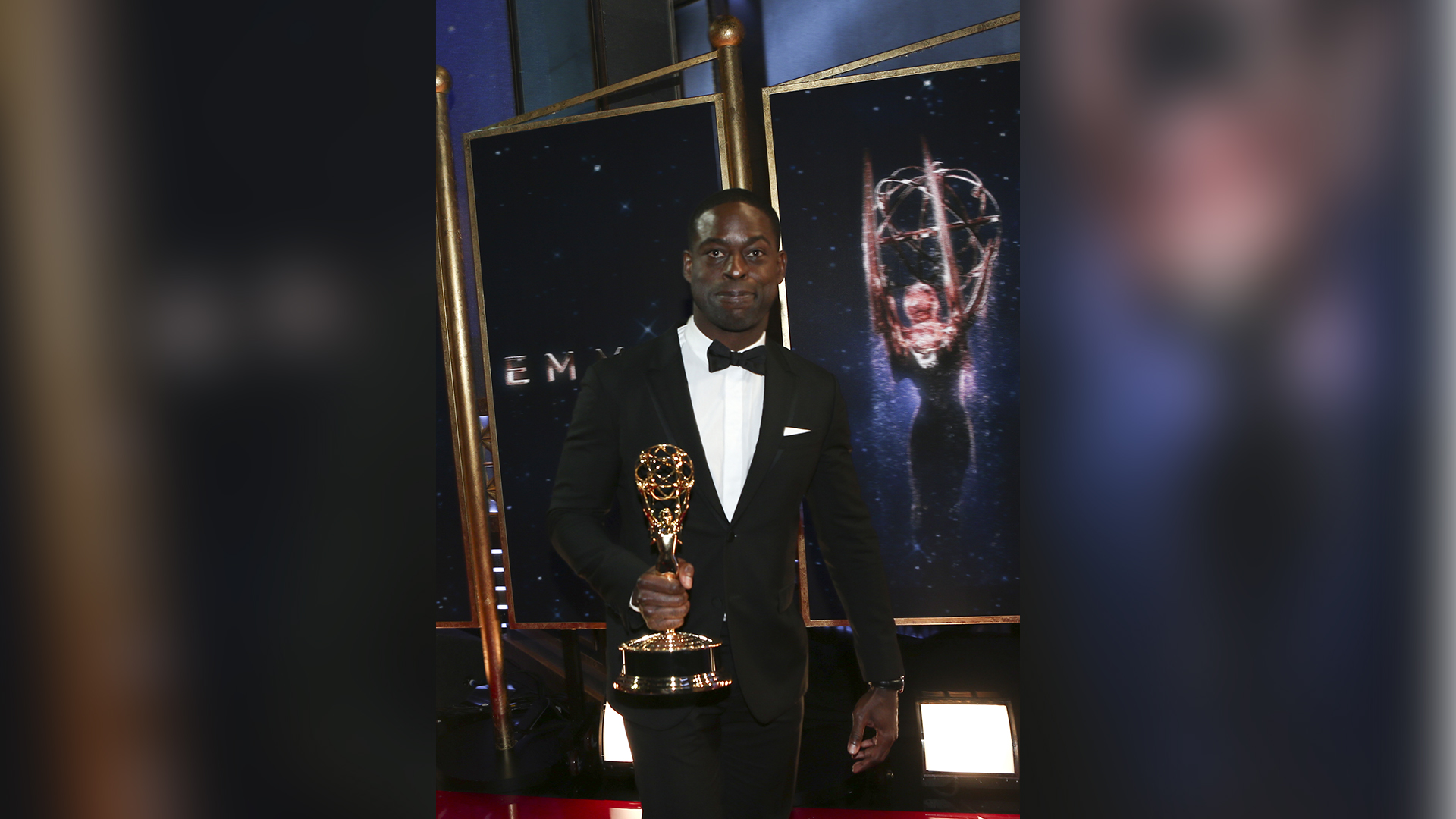Sterling K. Brown wins Outstanding Lead Actor in a Drama Series at The 69th Emmy Awards.