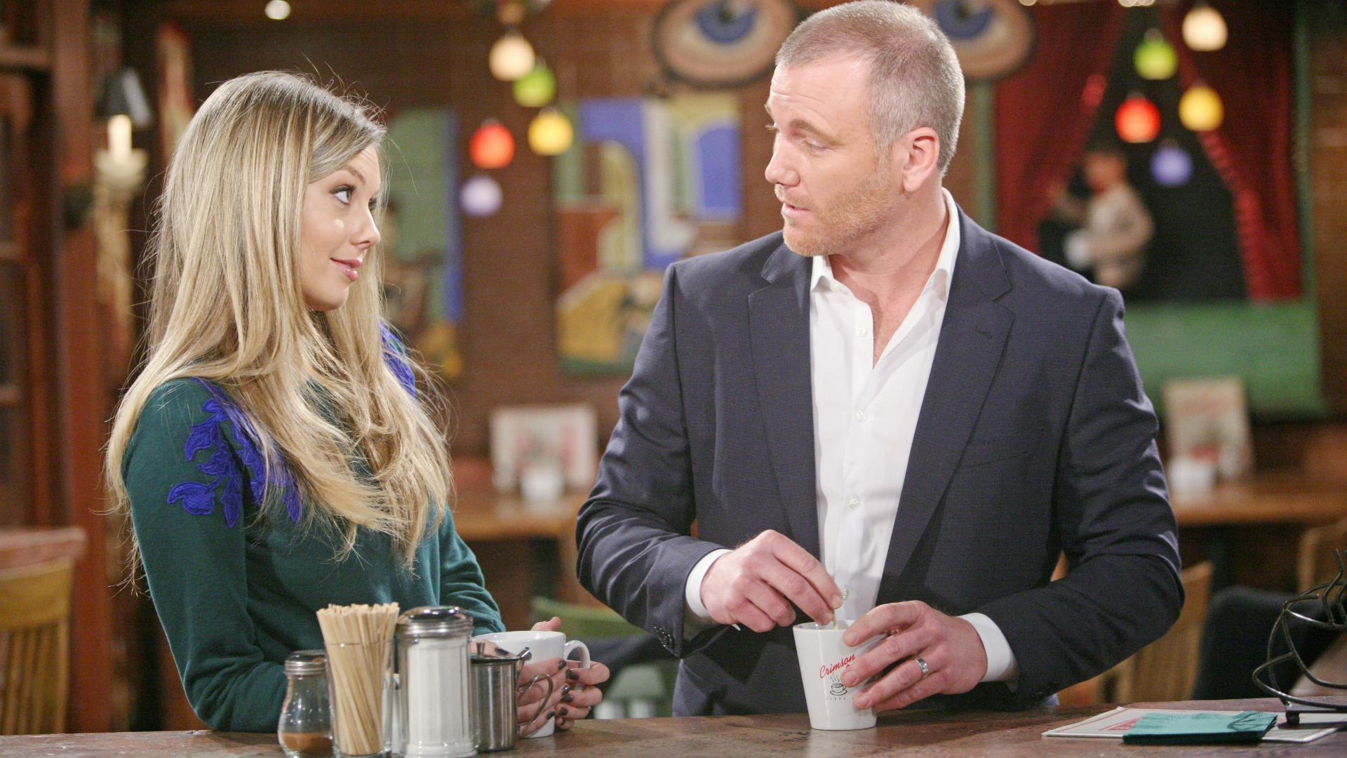 Abby promises to put their marriage first.