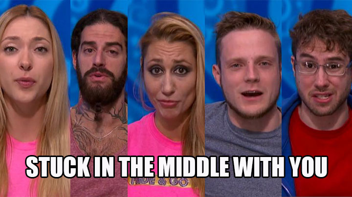 Vanessa is caught in the middle of two alliances.