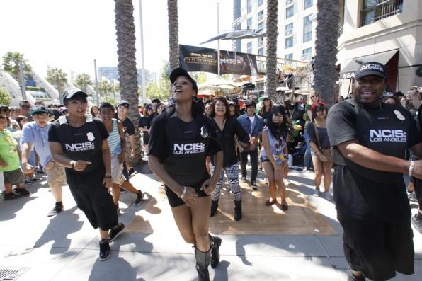 NCIS: Los Angeles Flash Mob