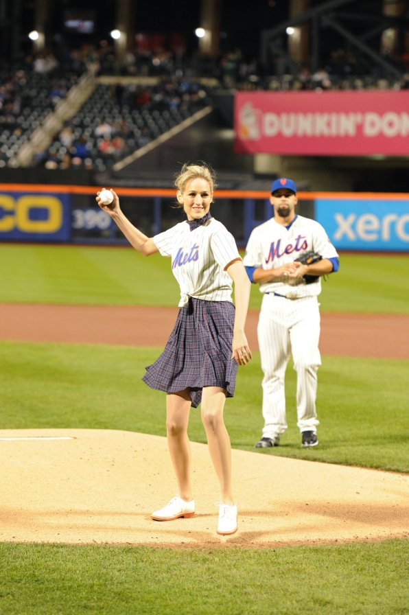Throwing Out First Pitch