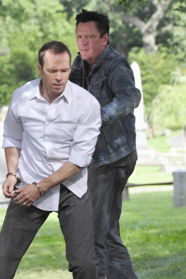 Danny in Handcuffs