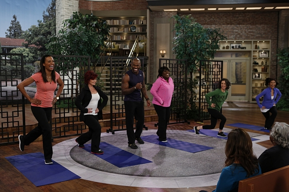 10. Julie Chen - Yoga - The Talk and Big Brother