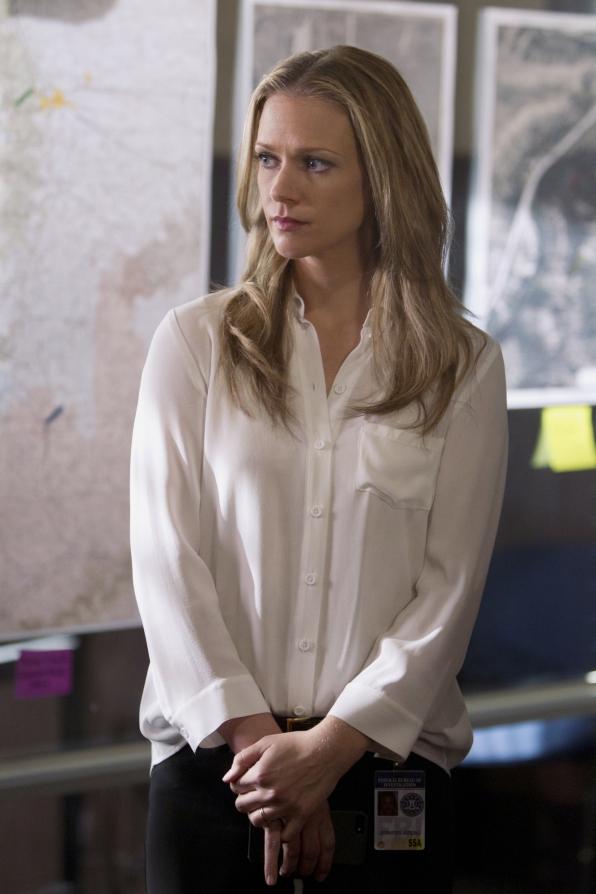 Blonde On Criminal Minds