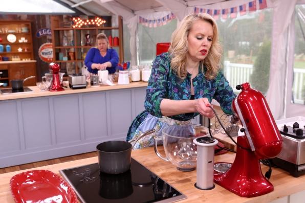 Darlene in action