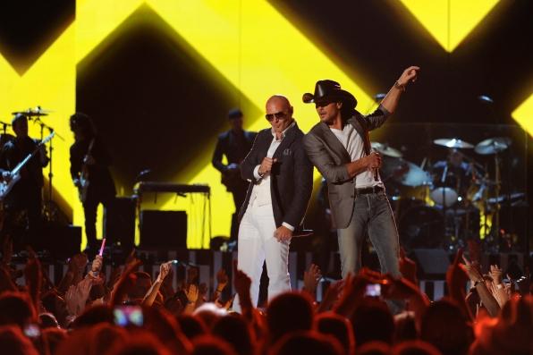 Pitbull and Tim McGraw