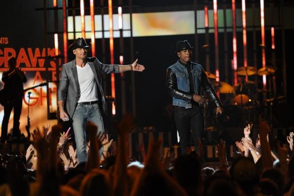 Ne-Yo and Tim McGraw
