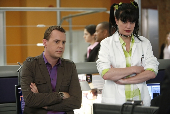 """Abby and McGee in """"Damned If You Do"""" NCIS Season Finale"""