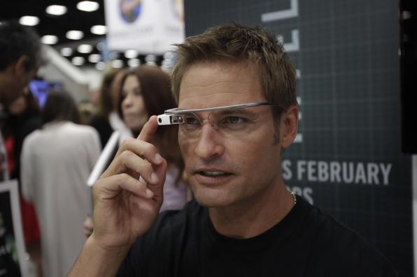 Josh Holloway Sporting Google Glass