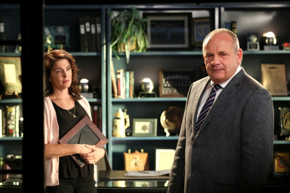 """Worried Sick in """"The Devil and D.B. Russell"""" Season 14 Episode 1"""