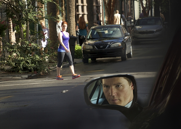 Elizabeth Bond as Charlene Wilcox and Shawn Hatosy as Terry McCandless