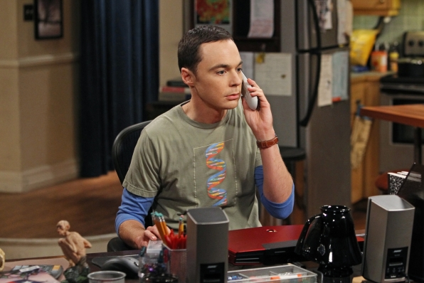 "Sheldon in ""The Hofstadter Insufficiency"" Episode 1 of Season 7"