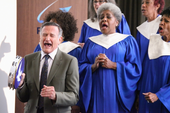 """Singing his song in """"Hugging The Now"""" Episode 6 of Season 1"""