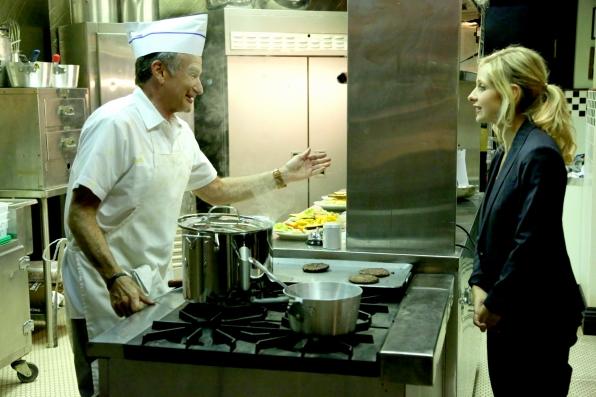 "Someone's in the kitchen with Simon in ""Breakfast Burrito Club"" Episode 4 of Season 1"