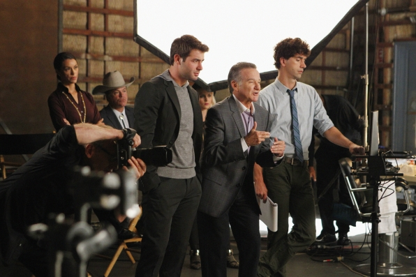 "Ad shoot in ""The Spectacular"" Episode 2 of Season 1"