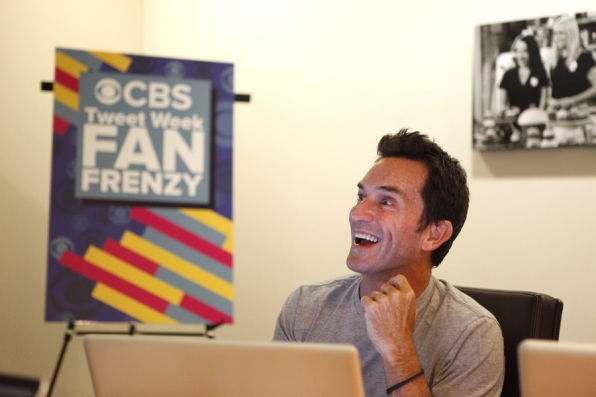 Jeff Probst Watches the Premiere