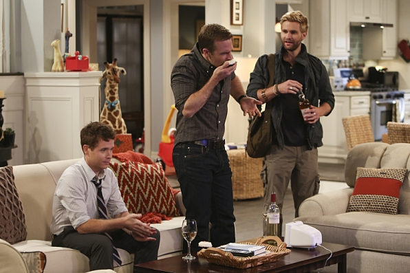 """Guys night in """"The Bicycle Thieves"""" S1 E15"""
