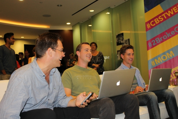 NCIS' Michael Weatherly, Sean Murray and Brian Dietzen