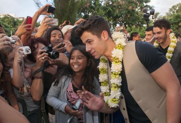 Hawaii Five-0 Sunset on the Beach - Nick Jonas