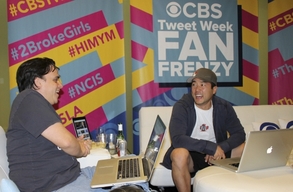 The Mentalist's Tim Kang and Co-Producer Jordan Harper