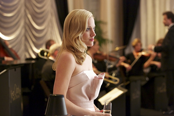 """Lee Anne Marcus at the Mayor's ball in """"Deep Waters"""" S1E7"""