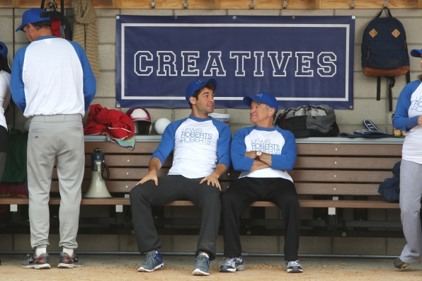 "Zach & Simon in ""Sixteen-Inch Softball"" Episode 9 of Season 1"