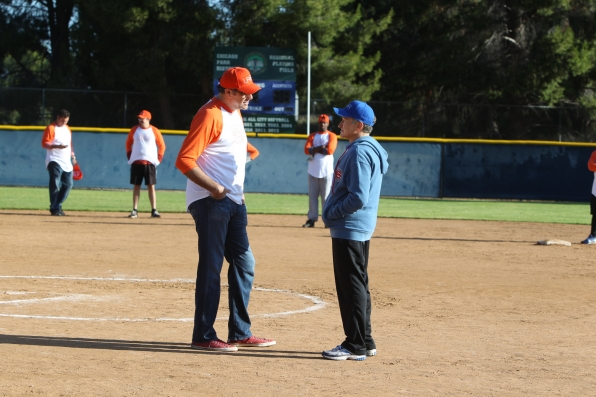 "Lewis & Roberts in ""Sixteen-Inch Softball"" Episode 9 of Season 1"