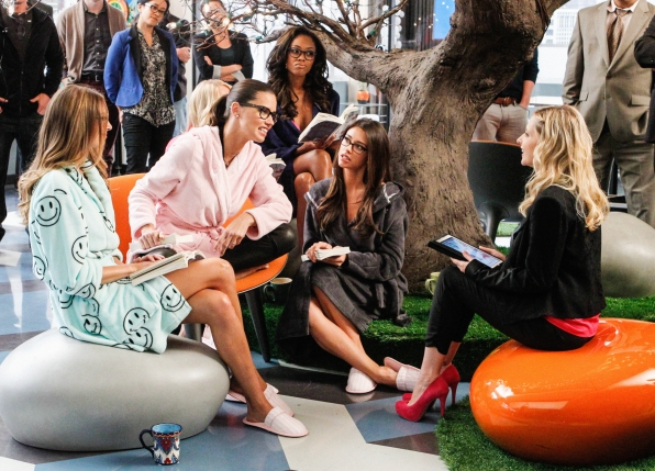 "Model talk in ""Models Love Magic"" Episode 10 of Season 1"