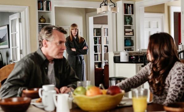 Ellen walks in on Brian's conversation