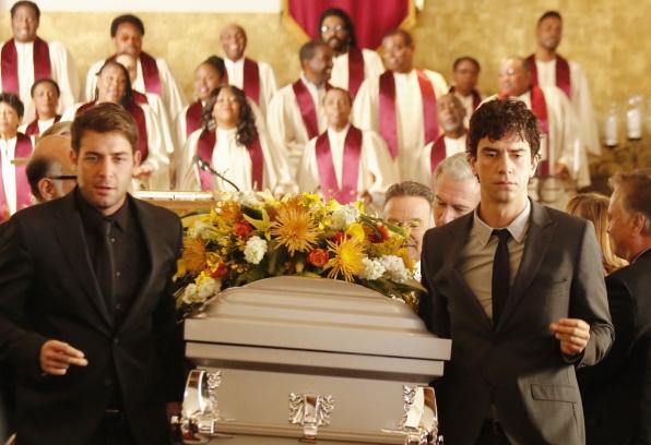 """Pallbearers in """"Dead & Improved"""" Episode 15 of Season 1"""